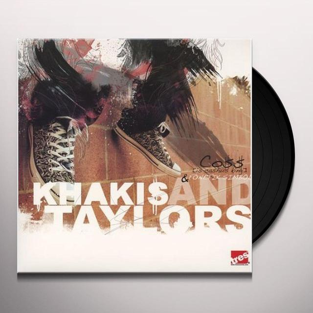 Coss & Fonetik Simbol KHAKIS & TAYLORS Vinyl Record - Sweden Release