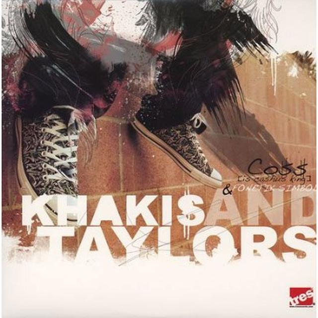 Coss & Fonetik Simbol KHAKIS & TAYLORS Vinyl Record - Sweden Import