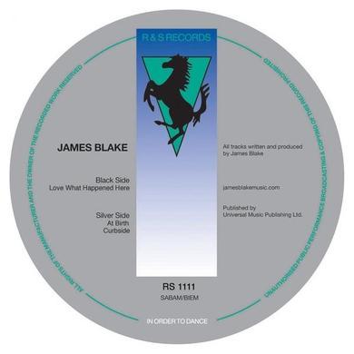 James Blake LOVE WHAT HAPPENED HERE Vinyl Record - UK Release