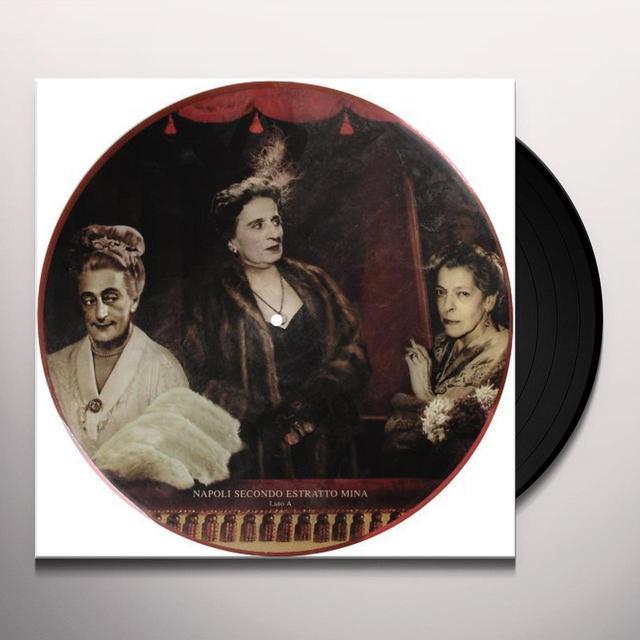 Mina NAPOLI SECONDO ESTRATTO Vinyl Record - Italy Import
