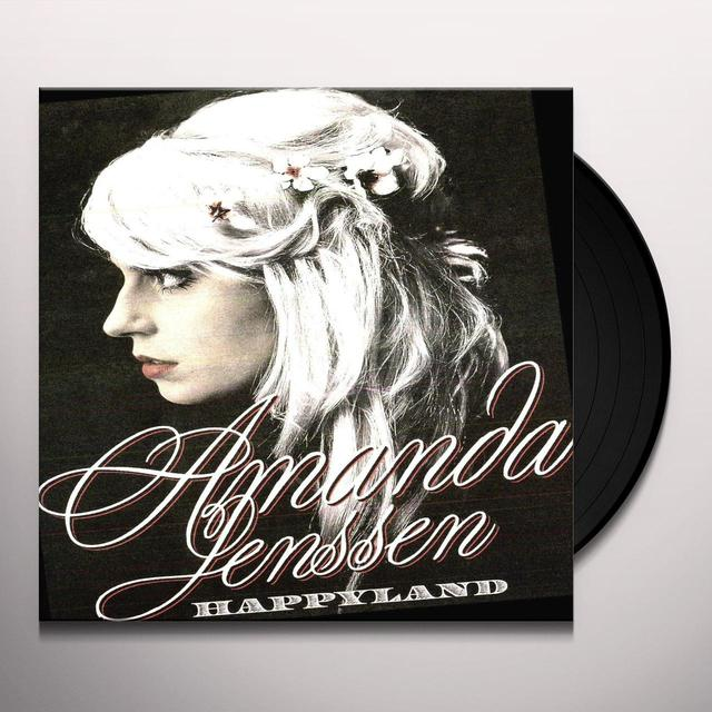 Amanda Jenssen HAPPYLAND Vinyl Record - Sweden Import