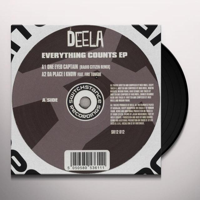Deela EVERYTHING COUNTS Vinyl Record - Australia Release