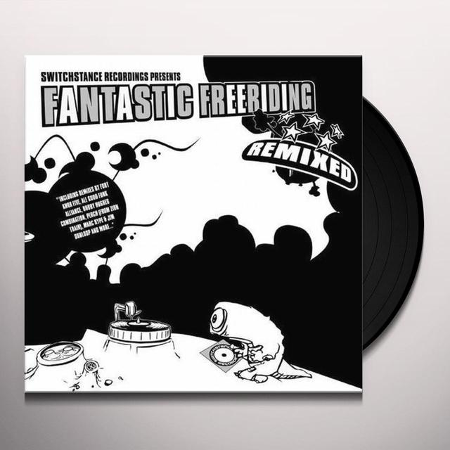 FANTASTIC FREERIDING REMIXED Vinyl Record