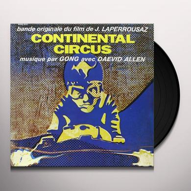 Gong CONTINENTAL CIRCUS (FRA) Vinyl Record