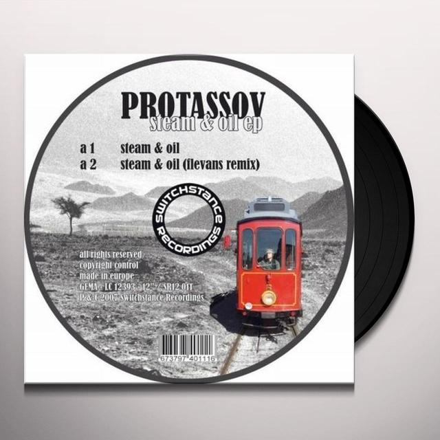 Protassov STEAM & OIL EP Vinyl Record - Australia Import