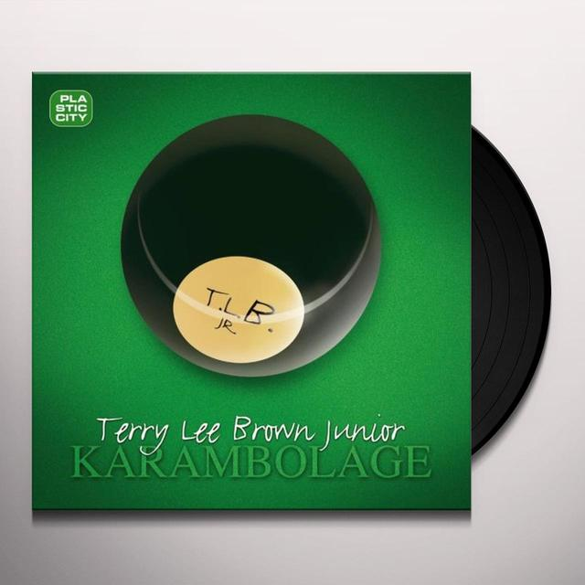 Terry Lee Brown, Jr. KARAMBOLAGE (GER) Vinyl Record