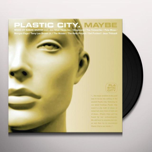 PLASTIC CITY MAYBE Vinyl Record