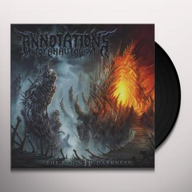 Annotations Of An Autopsy REIGN OF DARKNESS (GER) (Vinyl)