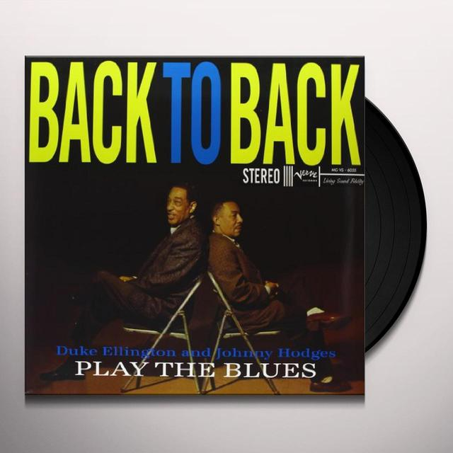 Ellington & Hodges BACK TO BACK (GER) (Vinyl)