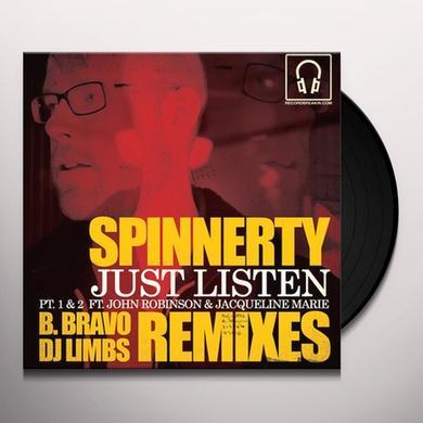 Spinnerty JUST LISTEN REMIXES Vinyl Record - Australia Import