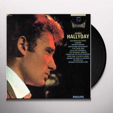 Johnny Hallyday LES BRAS EN CROIX Vinyl Record