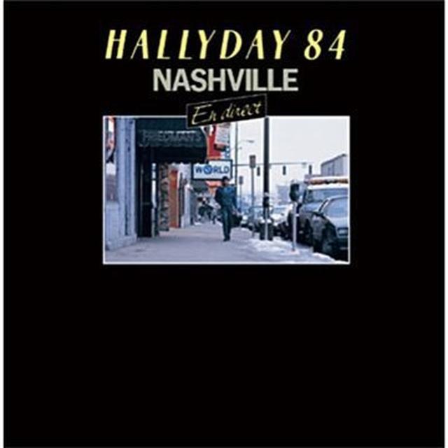 Johnny Hallyday NASHVILLE 84 (FRA) Vinyl Record