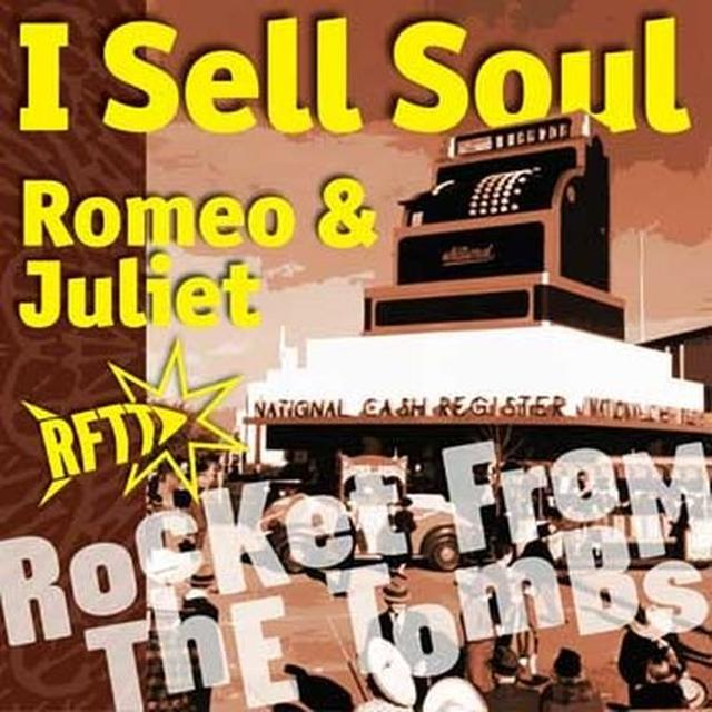 Rocket From The Tombs I SELL SOUL Vinyl Record - UK Import
