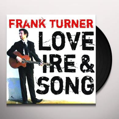 Frank Turner LOVE IRE & SONG Vinyl Record - UK Release