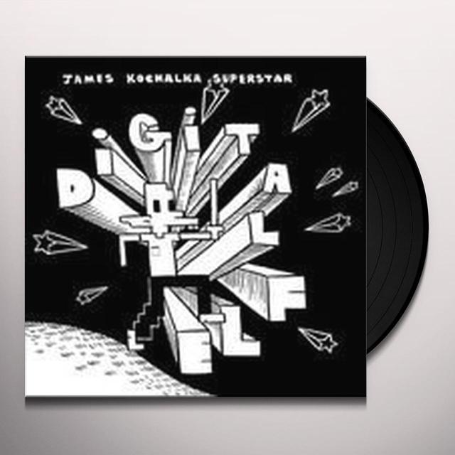 James Superstar Kochalka DIGITAL ELF & KISSERS Vinyl Record - UK Import