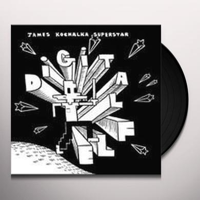 James Superstar Kochalka DIGITAL ELF & KISSERS Vinyl Record