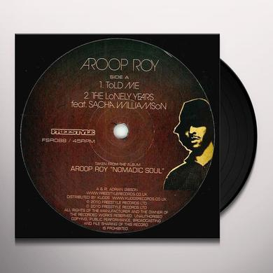 Aroop Roy TOLD ME Vinyl Record