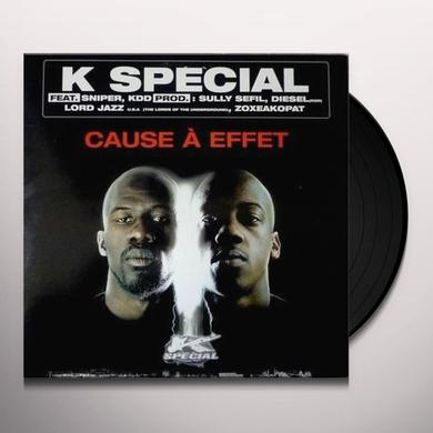 K Special CAUSE A EFFET (FRA) Vinyl Record