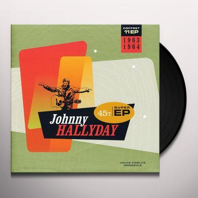 Johnny Hallyday COFFRET 11 EP 1963-1964 (FRA) Vinyl Record