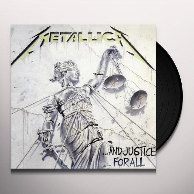 Metallica AND JUSTICE FOR ALL Vinyl Record - Portugal Import