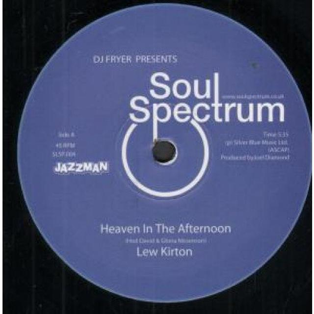 Lew Kirton HEAVEN IN THE AFTERNOON Vinyl Record