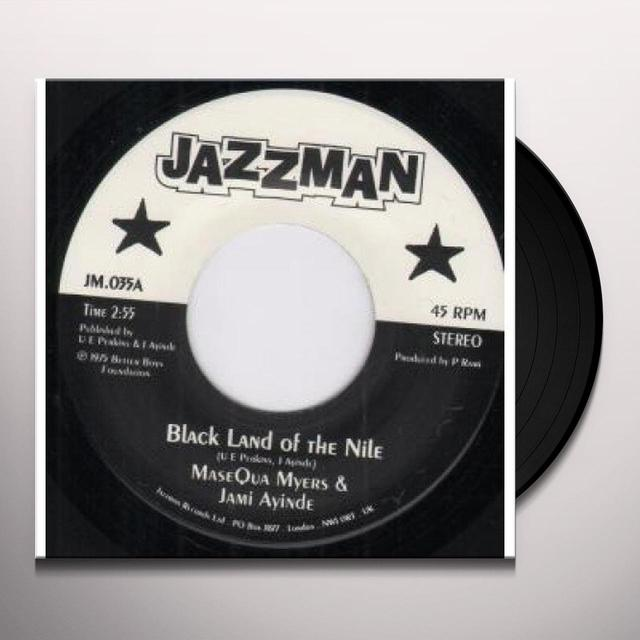 Myers Masequa & J. Ayinde BLACK LAND OF THE NILE/COMMUNION Vinyl Record