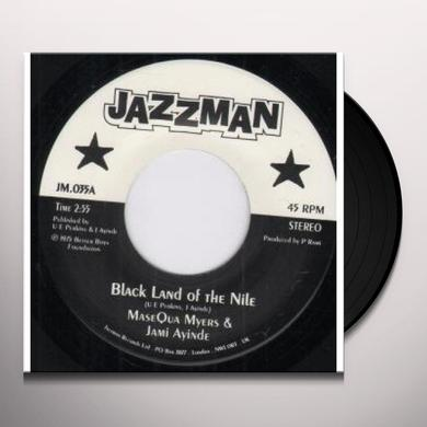 Myers Masequa & J. Ayinde BLACK LAND OF THE NILE/COMMUNION Vinyl Record