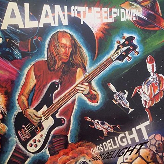 Alan Davey CHAOS DELIGHT Vinyl Record - Holland Import