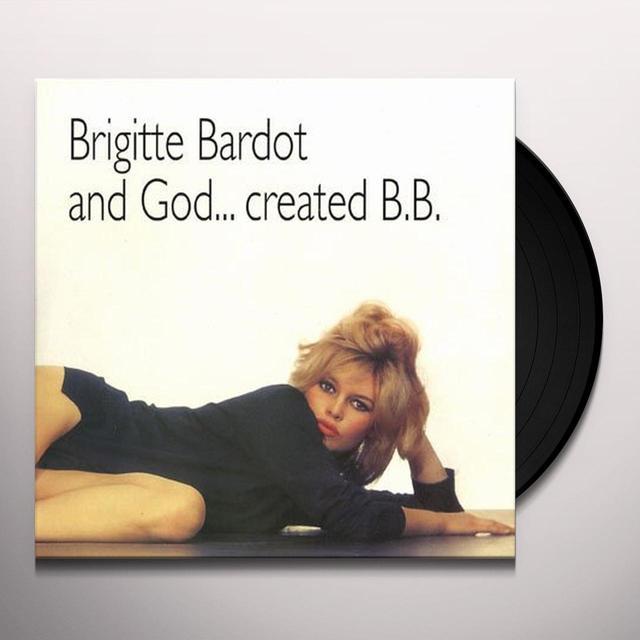 Brigitte Bardot NORMAL VERSION Vinyl Record - Italy Import