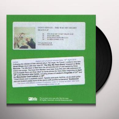 Good Shoes WAY MY HEART BEATS EP Vinyl Record - UK Import
