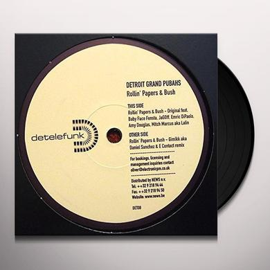 Detroit Grand Pubahs ROLLIN PAPERS & BUSH (FRA) Vinyl Record