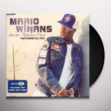 Mario Winans NEVER REALLY WAS Vinyl Record - UK Import