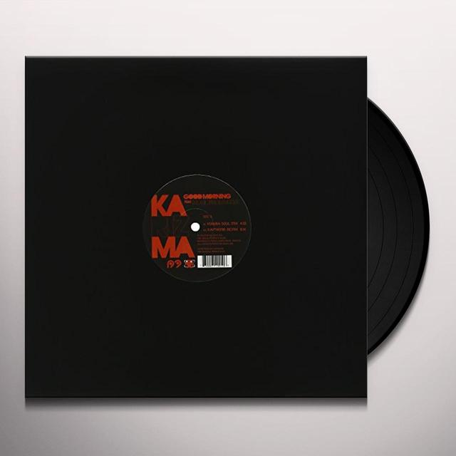 Karizma GOOD MORNING EP (AT JAZZ & YORUBA) Vinyl Record - Sweden Release