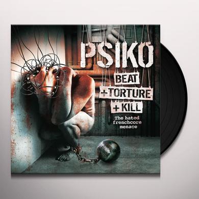 Psiko BEAT+TORTURE+KILL Vinyl Record