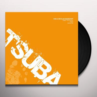 Oxia & Nicolas Masseyeff KEEP THE DRUMS Vinyl Record