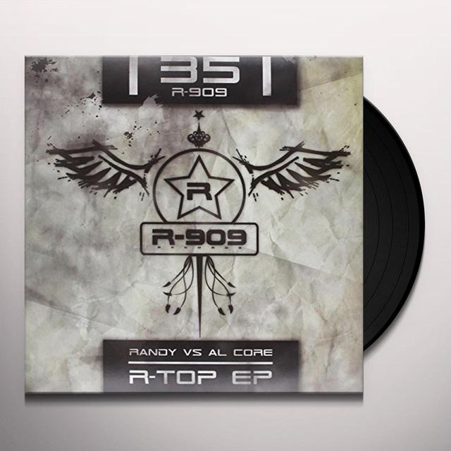 Randy Vs Al Core R-TOP EP (FRA) Vinyl Record