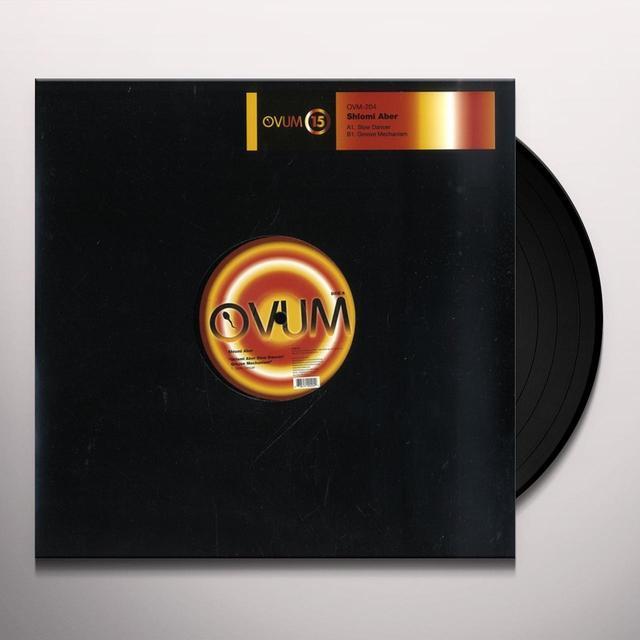 Shlomi Aber SLOW DANCER-GROOVE MECHANISM Vinyl Record - Sweden Import