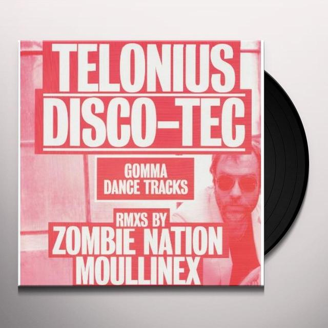 Telonius DISCO-TEC (ZOMBIE NATION & MOULINEX (GER) (Vinyl)