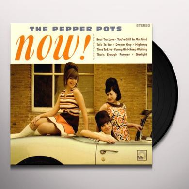 Pepper Pots NOW Vinyl Record - Portugal Release