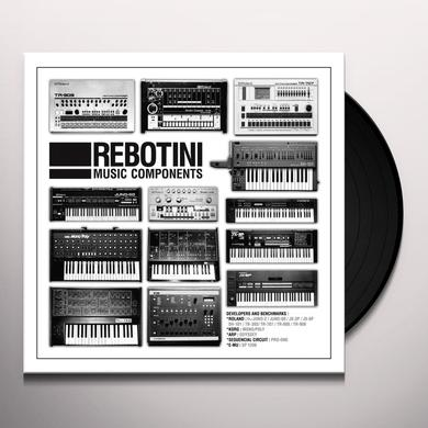 Arnaud Rebotini MUSIC COMPONENTS Vinyl Record