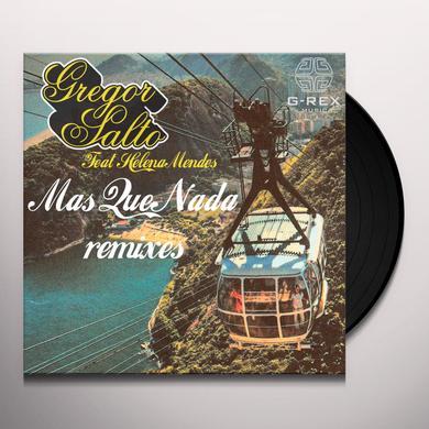 Gregor Salto MAS QUE NADA REMIXES Vinyl Record