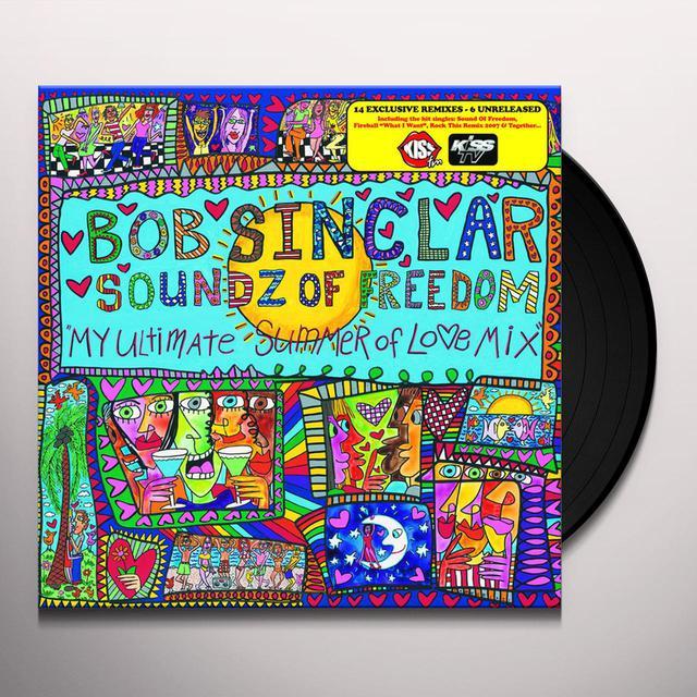 Bob Sinclar SOUNDS OF FREEDOM 2 Vinyl Record