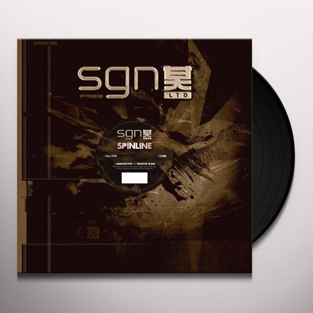 Spinline RADIOACTIVE-GROOVE SCAM Vinyl Record