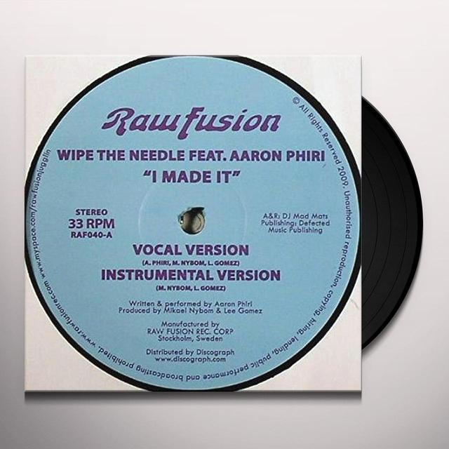 Wipe The Needle I MADE IT (FRA) Vinyl Record