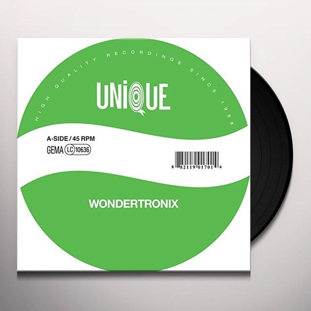 Wondertronix DANCE (LACK OF AFRO REMIX) Vinyl Record - Sweden Release