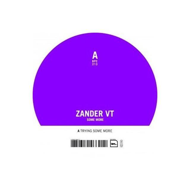 Zander Vt SOME MORE Vinyl Record