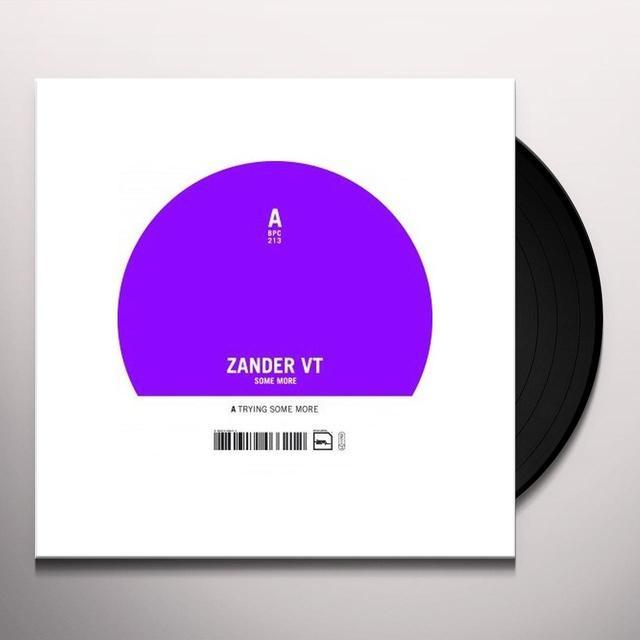 Zander Vt SOME MORE (GER) Vinyl Record