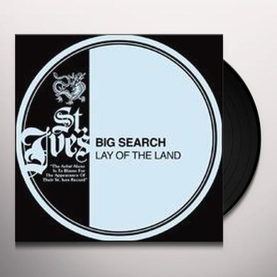 Big Search LAY OF THE LAND Vinyl Record - Portugal Import