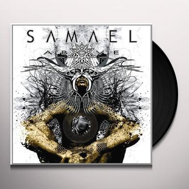 Samael ABOVE Vinyl Record - Holland Import