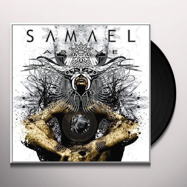 Samael ABOVE Vinyl Record - Holland Release